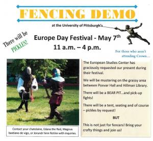 Fencing Demo 1